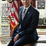 """27. April 2012: US-Präsident Barack Obama lässt sich im Zuge seines Wahlkampfes für das Cover des """"Rolling Stone""""-Magazines abli"""