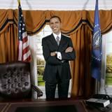 Bei Madame tussauds in Washington hat Barack Obama sogar eine eigene Wachsfigur.