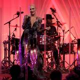 Gwen Stefani performt auf der Bühne während des Staatsbanketts für den italienischen Ministerpräsidenten Matteo Renzi im Weißen Haus.