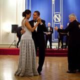 Mit diesem entzückenden Foto bedankt sich Barack Obama bei seiner Frau. Es ist ihr 24. Hochzeitstag.