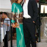 Jessica Schwarz und ihr Freund Markus Selikovsky sind auch in Venedig angekommen.