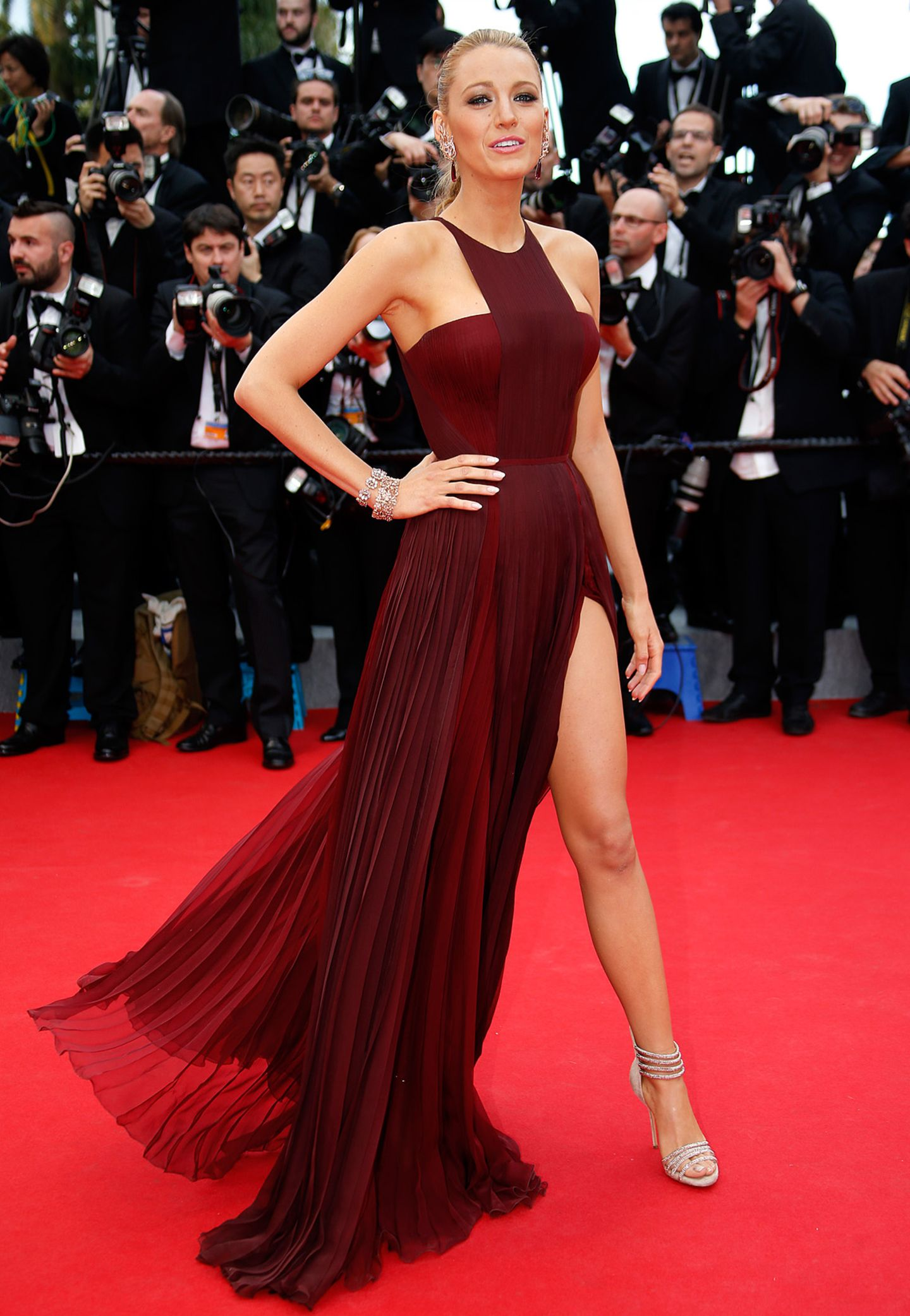 Blake Lively in Gucci Première