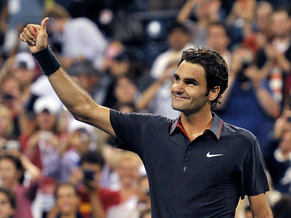 US Open: Roger Federer