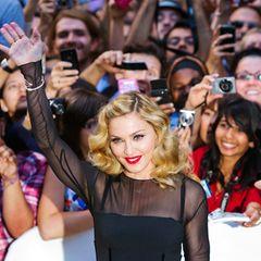 """Madonna präsentiert ihren Film """"W.E.""""."""