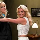 """Brittany S. Pierce (Heather Morris) trifft 2010 in """"Glee"""" auf Britney Spears."""