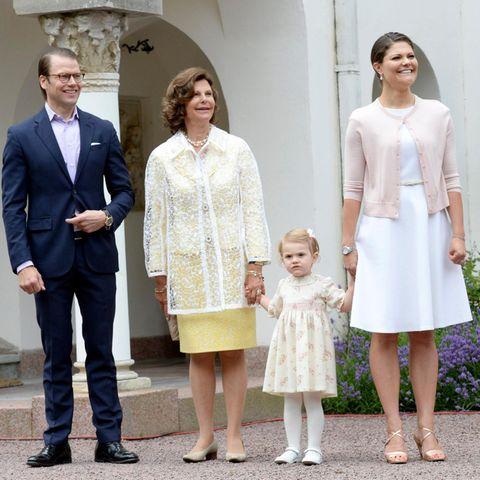Die Kronprinzessin wurde am 14. Juli 1977 in Solna bei Stockholm geboren.
