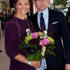 18. August 2011: Einen Tag nach der freudigen Baby-Nachricht aus Schweden zeigen sich Prinzessin Victoria und Prinz Daniel gemei
