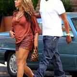 Umstandsmode an Beyoncé Knowles: 10. September 2011