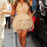 Umstandsmode an Beyoncé Knowles: 13. September 2011