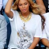 Umstandsmode an Beyoncé Knowles: 12. September 2011