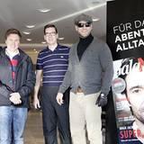 In Aufbruchstimmung: Thomas Heinze, Randy Dohack, Jan Kruse und Henning Baum