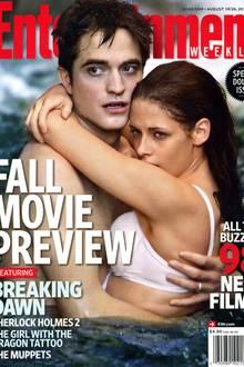 """Das Cover der """"Entertainment Weekly"""" die Spannung auf den vierten Teil der Vampir-Saga für so manchen Fan noch zusätzlich steige"""