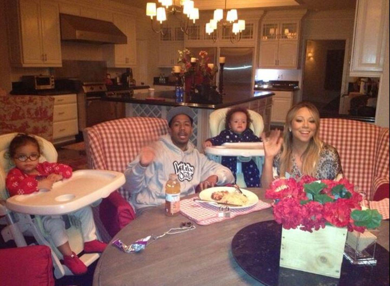Am Vatertag sendet Familie Carey-Cannon per Twitter Grüße an alle Väter. Mariah dankt besonders ihrem Mann Nick.