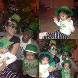 Familie Carey-Cannon feiert den St. Patrick's Day - selbstverständlich nicht ohne Verkleidung.