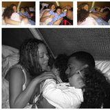 Mariah Carey und Nick Cannon schmusen im Bett mit ihren Zwillingen.