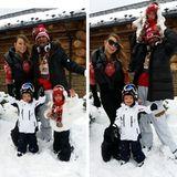 Mariah Carey und Nick Cannon verbringen im Weihnachtsurlaub in Aspen viel Zeit mit ihren Zwillingen im Schnee.