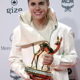 Hochkarätige Events wie die Bambi-Verleihung sind genau Justin Biebers Kragenweite.