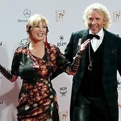 Thea und Thomas Gottschalk zeigen sich mal wieder von ihrer besten Fashion-Seite.