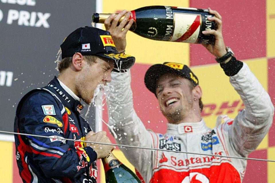 9. Oktober 2011: Sebastian Vettel ist zum zweiten Mal Weltmeister.