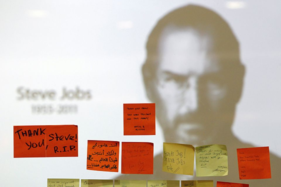 5. Oktober 2011: Apple-Chef Steve Jobs stirbt nach langem Krebsleiden mit 55 Jahren.