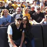 11. September 2010: Was tut man nicht alles für seinen Liebsten? Demi Moore begleitet ihren Mann zu einem Footballspiel in seine