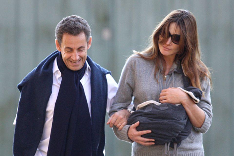 Paare des Jahres: Nicolas Sarkozy und Carla Bruni
