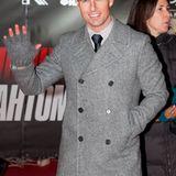 8. Dezember 2011: Dem eisigen russischen Winter trotzt der sonnenverwöhnte Tom Cruise bei der Premiere in Moskau mit wärmenden S