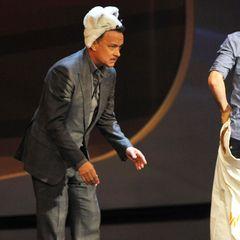 3. November 2012: Tom Hanks muss in Bremen einiges über sich ergehen lassen und ist davon sichtlich genervt, nach der Sendung lästerte er bei einem Radiosender über die Show ab.