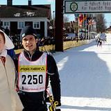 4. März 2012: Prinz Carl Philip zeigt sich von seiner sportlichen Seite und nimmt am Wasalauf in Schweden teil.