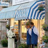 27. September 2012: Queen Elizabeth besucht im Rahmen ihres Thronjubiläums das Örtchen Ballater im schottischen Aberdeenshire. D