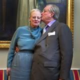 10. Januar 2012: Anlässlich ihres 40-jährigen Thronjubiläums gibt Königin Margrethe eine Pressekonferenz in Kopenhagen. Prinz He