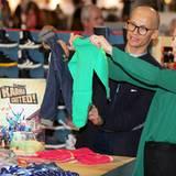 3. Februar 2012: Kronprinzessin Mary besucht die internationalen Modemesse in Kopenhagen.