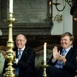 """23. Oktober 2012: Prinz Willem-Alexander feiert das 80-jährige Bestehen des """"Jewish Historical Museums"""" in Amsterdam."""