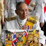 6. Dezember 2012: Thailands König Bhumibol Adulyadej feiert seinen 85. Geburtstag und mit ihm tausende Anhänger.