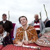 """3. September 2012: Als Schutzpatron für die Organisation """"Care Denmark"""" besucht Prinz Joachim verschiedene Entwicklungsprojekte"""