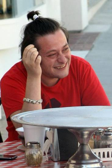 28. August 2012: Edward Furlong wird beim Mittagessen in Beverly Hills gesichtet.