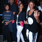 8. Dezember 2012: Familie Smith besucht in Miami einen Club, in dem Wills Sohn Trey aus erster Ehe als DJ auflegt.