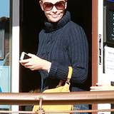 20. Dezember 2012: Charlize Theron wird in einem Shushi Restaurant in West Hollywood gesichtet.