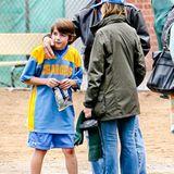 17. November 2012: Harrison Ford und Calista Flockhart unterstützen ihren Sohn Liam bei seinem Fußballspiel in Brentwood.