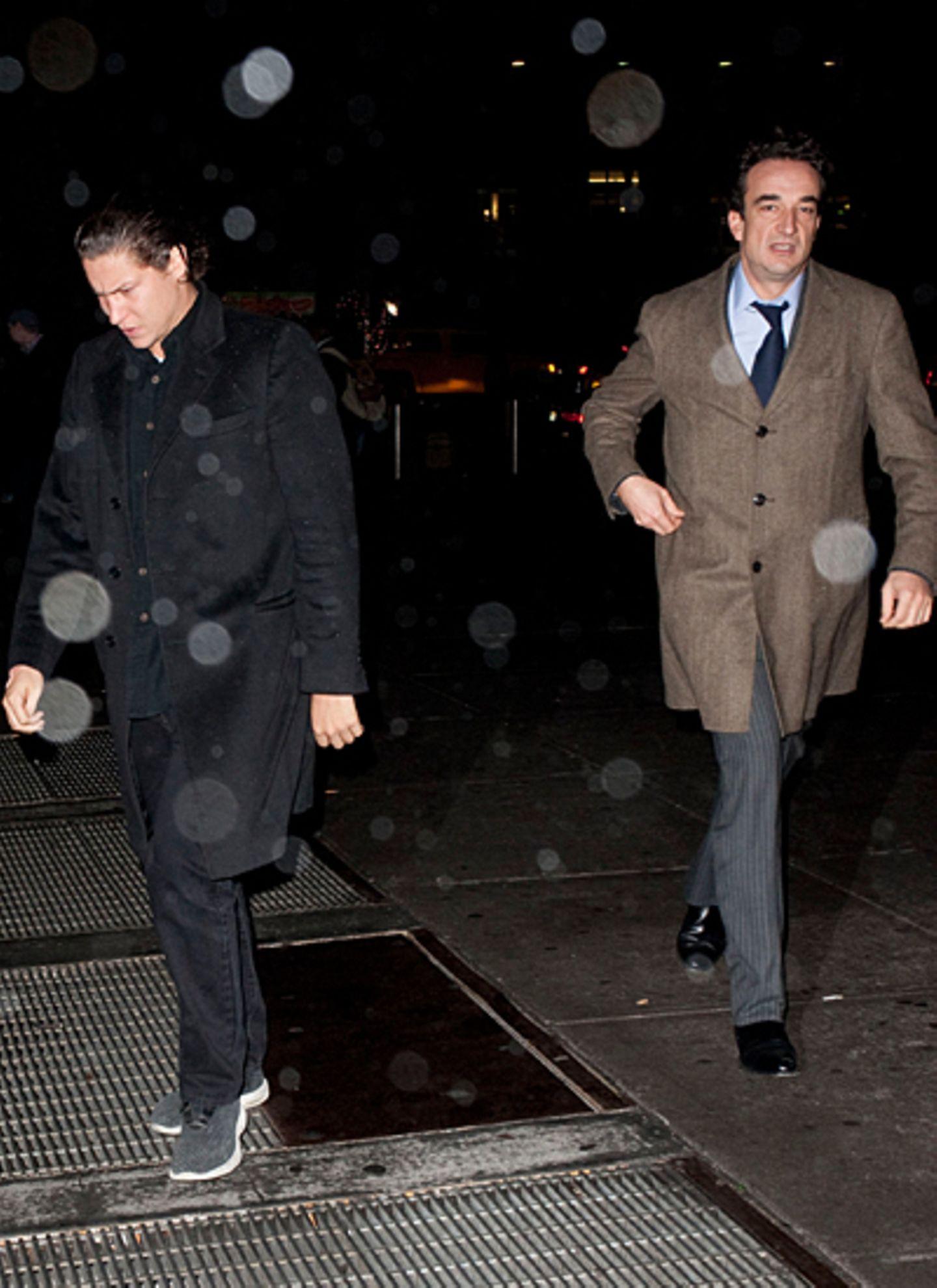 18. Dezember 2012: Vito Schnabel und Olivier Sarkozy gehen zusammen in den Madison Square Garden, um sich ein Basketballspiel de