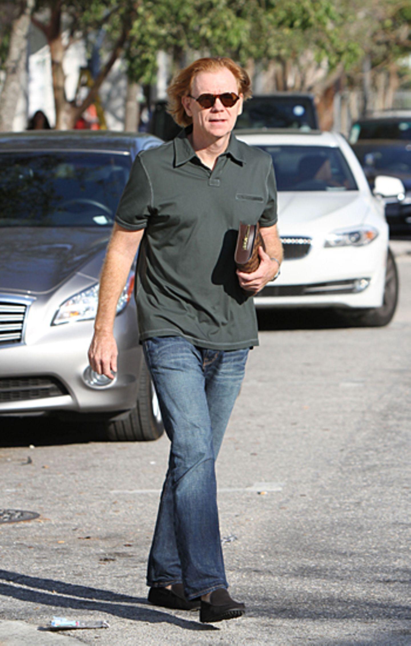 """21. November 2012: """"CSI""""-Star David Caruso schlendert durch Miami."""