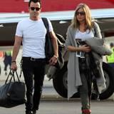 23. Dezember 2012: Justin Theroux und Jennifer Aniston verbringen die Weihnachsttage in Mexiko.