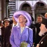 Königin margrethe - Oktober 2000