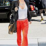 Detailverliebt: Accessoires wie die schwere Kette machen das ohnehin schon stylishe Outfit von Nicole Richie noch schöner.