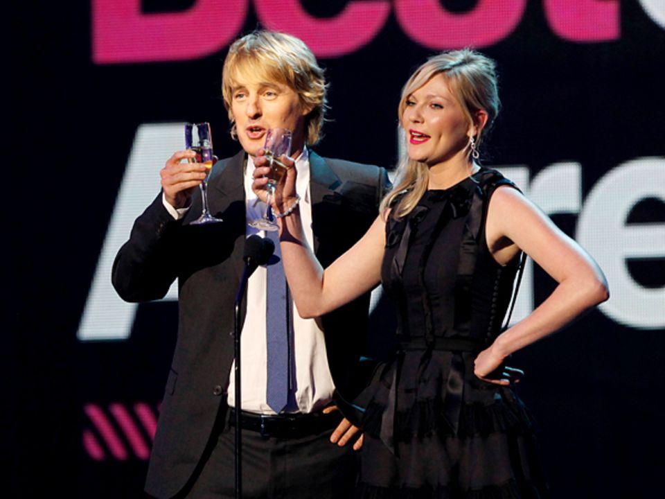 Critics' Choice Movie Awards: Owen Wilson und Kirsten Dunst