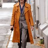 """5. November 2012: Helge Schneider ist wieder als Kommissar """"00 Schneider"""" unterwegs und steht für Dreharbeiten zu dem Kinofilm """""""