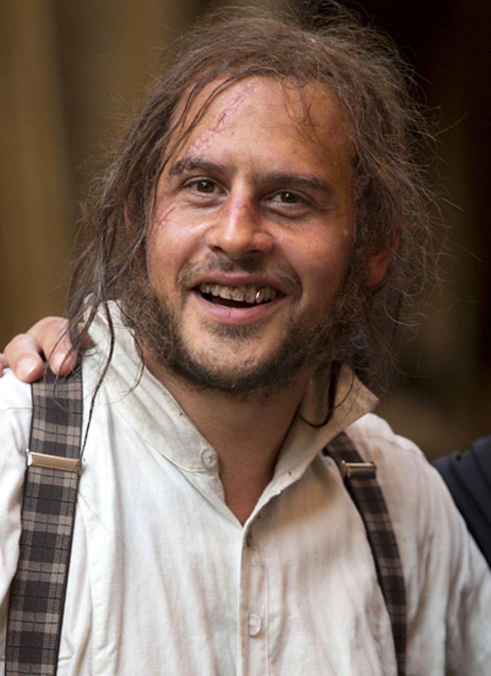 """23. Juli 2012: In Köln finden die Dreharbeiten zu """"Die schwarzen Brüder"""" statt. Moritz Bleibtreu spielt in dem Film """"Antonio Lui"""