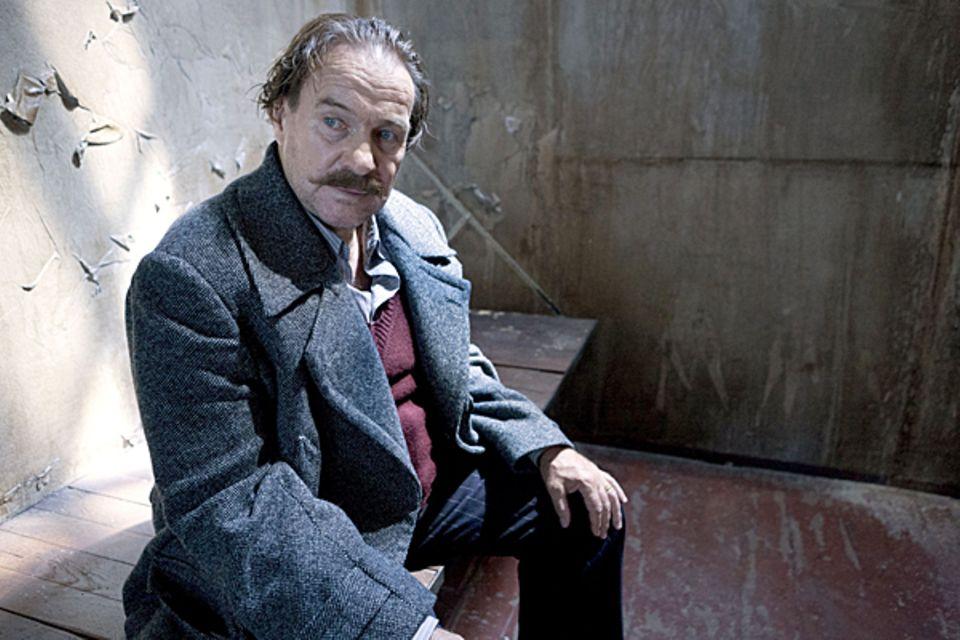 """17. Oktober 2012: Im ARD-Film """"George"""" spielt Götz George seinen eigenen Vater Heinrich."""