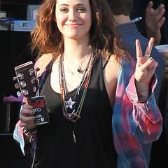 """11. Dezember 2012: Emmy Rossum steht für """"You're Not You"""" vor der Kamera."""