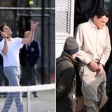 """14. November 2012: Vielseitig zeigt sich Leonardo DiCaprio bei den Dreharbeiten zu """"The Wolf of Wall Street""""."""